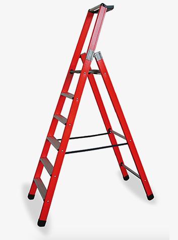 scala doppia a una salita